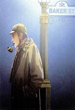 Retro - Sherlock Holmes - Popart A3 Art Poster Print