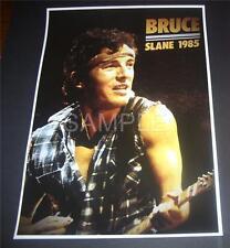 Bruce Springsteen  poster Slane Castle Co Meath Ireland 1985 Reprodution