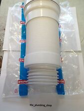 McAlpine WC-F26S Straight Flexible Toilet Pan Connector