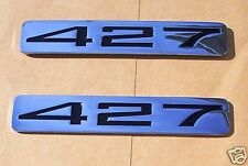 BLACK and CHROME 427 Emblem Z06 Corvette (PAIR)