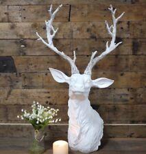 Large White ornamentale Addio Al Celibato Testa Busto Shabby Chic Vintage Country Casa Regalo