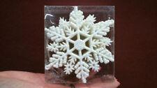 Schneeflocke Christbaumschmuck aus Kunststoff