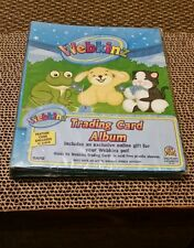 WEBKINZ Trading Card Album Holds Up To 96 Cards Acid Free NEW IN FACTORY SEALED