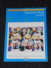 Alfred's Basic Piano Library: Repertoire Book, Level 5 Bk 5 by Amanda Vick Lethc