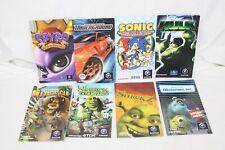 Nintendo Gamecube Manuals Lot of 8