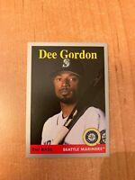 2019 Topps ahora 72 Dee Gordon los Marineros Seattle 4.11.19