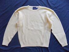 Abercrombie & Fitch Long Sleeve Crew Neck Sweater Men's Sz M Yellow Wool