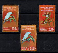 "INDONESIA  1982 BIRDS   FULL SET  SG 1682/84   "" CV £19 ""   SUPERB UNHINGED MINT"