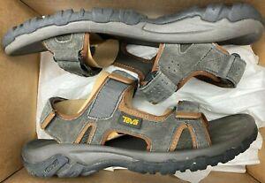 *NEW* Teva Men's Katavi Outdoor Sandal Black Olive Size 10 - 6C-3546