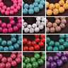 Wholesale 6mm 8mm 10mm Round Glass Charms Loose Spacer Beads DIY Findings New
