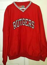 Rutgers Scarlet Knights NCAA Red V-Neck Adult Pullover Medium