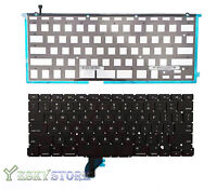 "NEW US Keyboard w Backlight Backlit For MacBook Pro 13"" A1502 2013 2014 Retina"
