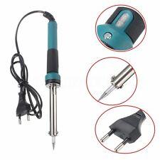 60W 240V SALDATORE ELETTRICO STAGNO SALDATURA ferro Soldering Iron handle Tip