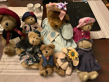 Boyd's Bears Plush Lot Of 8 Vintage & Collectibles