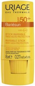 Uriage Bariesun SPF 50 + Invisible Stick UVA UVB Protection Sensitive Skin 8g