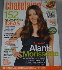 Chatelaine Magazine April 2008 Alanis Morissette Jamie Sale David Pelletier