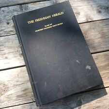1947 The Freshman Herald Princeton University Yearbook with supplement