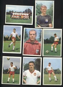 "FC BAYERN MÜNCHEN ""rookie cards"" Franz Beckenbauer... 1965/66 complet Collection"