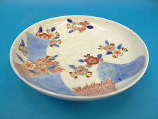 Antique Old Asian Chinese Qing Crazed Porcelain China Plate Kitchen Dish Bowl