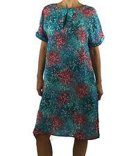 Anita SMALL Palena Swim Cover Up Blouse Dress 8684 Dream Blue (B-10)