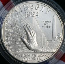 1994 Vietnam Veterans Memorial BU Silver Dollar Commemorative US Mint Coin ONLY