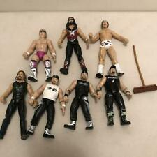Lot of 7 WWF WWE DX D Generation X Road Dogg Billy Gun X-Pac Action Figures