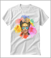 T-SHIRT UOMO  DONNA FRIDA KAHLO SURREALISMO PITTRICE GEN0547