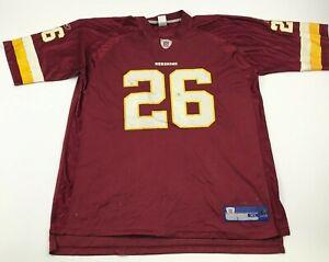 Reebok Clinton Portis Washington Redskins Football Jersey Size Extra Large XL 26