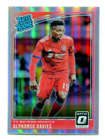 ALPHONSO DAVIES 2018-19 Panini Donruss Optic Holo Prizm Rated Rookie RC #176 SP