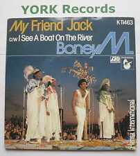 "BONEY M - My Friend Jack - Excellent Con 7"" Single Atlantic K 11463"