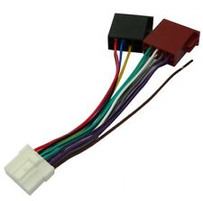 Adaptateur ISO Câble convertisseur fiche faisceau auto autoradio PANASONIC CQ