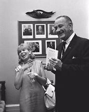 This Week Magazine presents book to President Lyndon Johnson New 8x10 Photo
