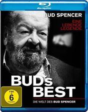 BUD SPENCER - BUDs BEST La Documentación UNA VIDA LEGENDE BLU-RAY Nuevo