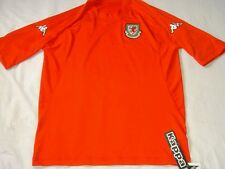 Wales Soccer Jersey Kappa Top Cymru Football Shirt  BNWT