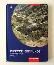 Diercke Erdkunde 2. Schülerband. Rheinland-Pfalz von Wolfgang Latz (2005, Gebund