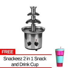 3 Layer Electric Chocolate Fountain Medium with Free Snackeez