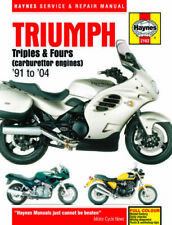 Triumph 2001 Motorcycle Owner & Operator Manuals