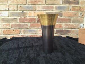 Vase Gold Bronze Copper Metal Flower Vase 25cm Ideal  Gift
