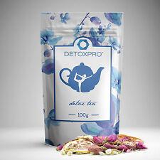 Detoxpro Detox Tee zum Abnehmen zügelt Appetit steigert Entschlackung Entgiftet