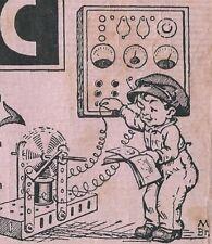 Ü867 ELECTRIC BAUKASTEN ANLEITUNG DRUCK MEISSEN 1932