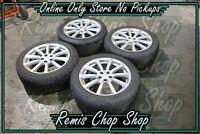 """17"""" Wheels & Tyres Alloy Rims 10/09 Gen 5 Subaru Liberty B-5 - Remis Chop Shop"""