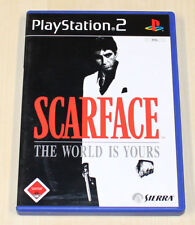 SCARFACE - THE WORLD IS YOURS - PLAYSTATION 2 PS2 - MIT HANDBUCH