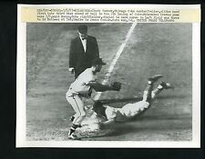 Eddie Mathews & Chuck Tanner 1957 Press Photo Milwaukee Braves Chicago Cubs