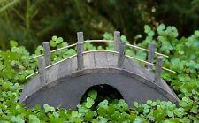 Miniature Dollhouse FAIRY GARDEN Furniture ~ Mini Wood Bridge ~ NEW