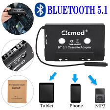 More details for universal bluetooth car audio tape cassette adapter for iphone mp3 ipod android