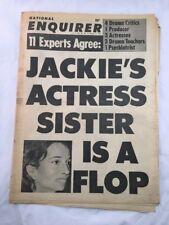 National Enquirer October 8 1967 Jackie Onassis Kennedy Tabloid Newspaper