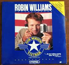 LASERDISC Movie: GOOD MORNING VIETNAM - Robin Williams  - Collectible