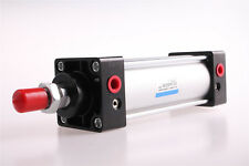 1Pcs KSC50x100 50mm Bore 100mm Stroke Double Action Pneumatic Air Cylinder