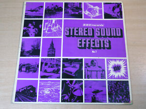 EX/EX- !! BBC Stereo Sound Effects : No. 7/1971 BBC Stereo LP