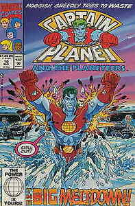 Captain Planet and the Planeteers #10 FN; Marvel | save on shipping - details in